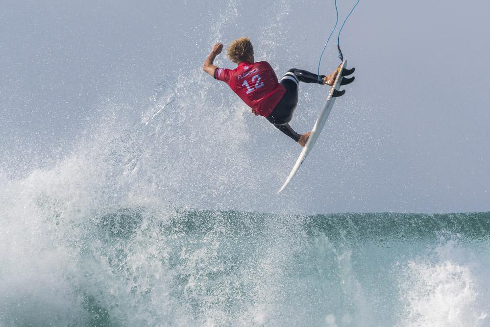 Surf masculin au Quiksilver Pro France