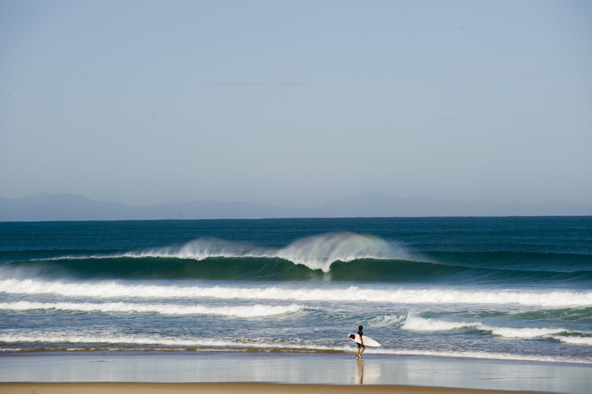 Surf à Messanges dans les Landes