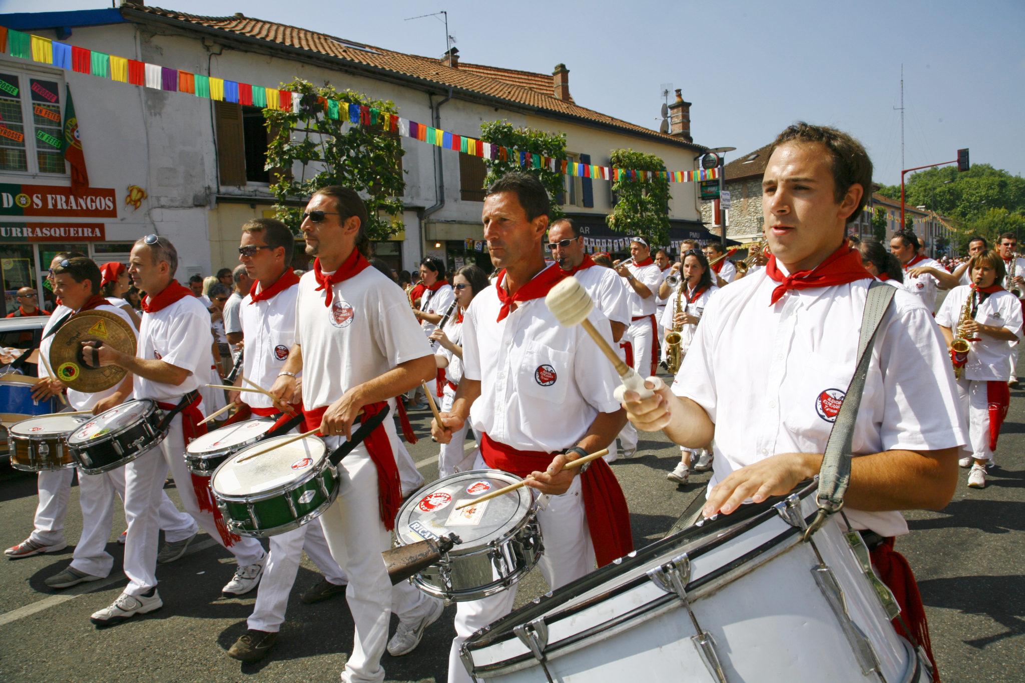 Ferias-Fêtes de Tyrosse-bandas