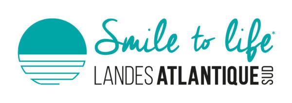 Logo Smile to life dominant bleu