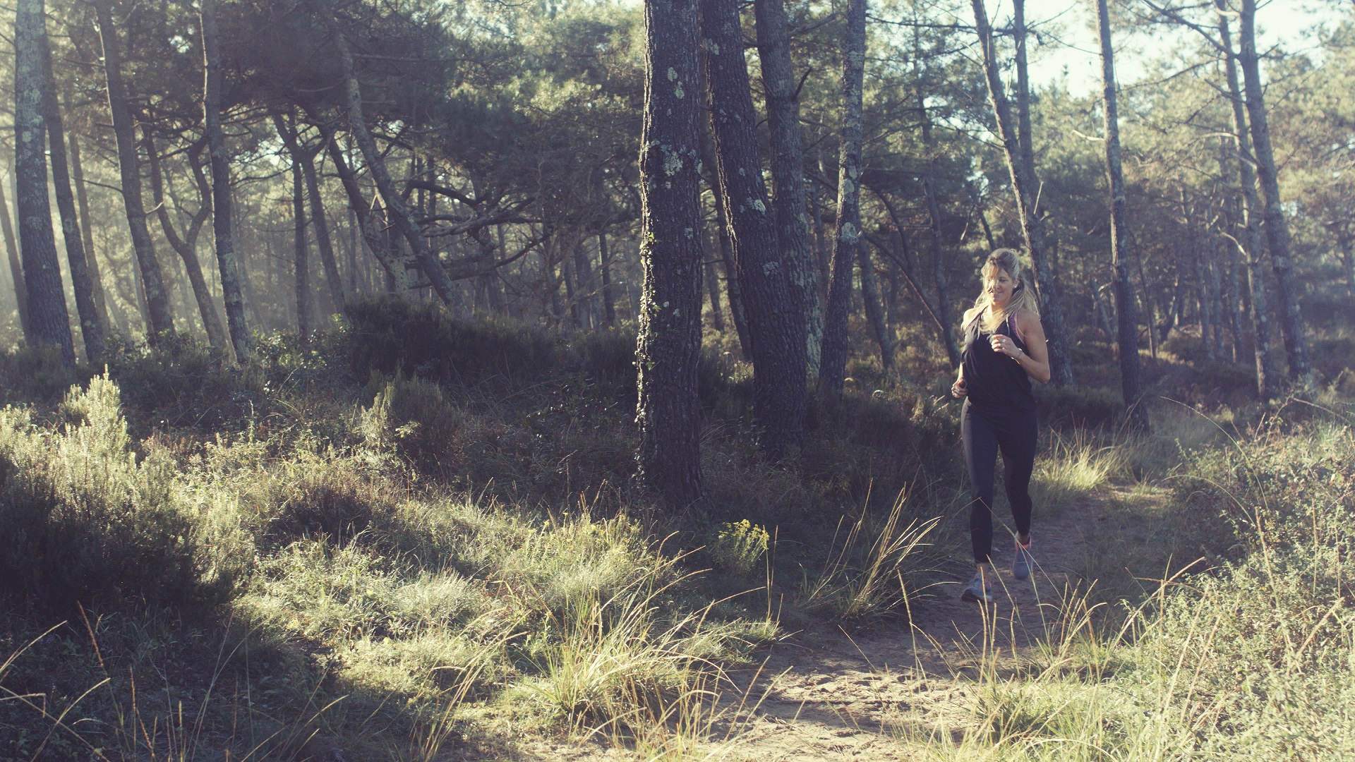 Running foret dame