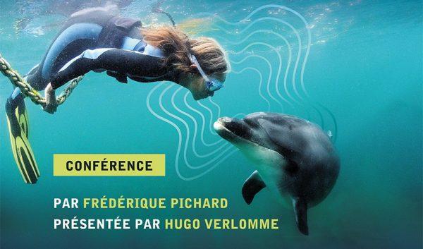 Conférence Elle parle avec les dauphins