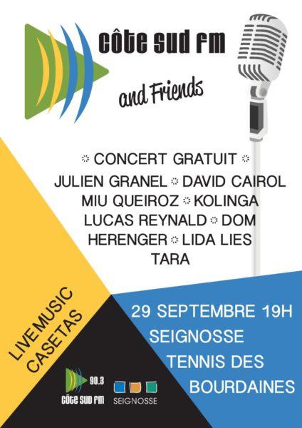 Côte Sud FM and Friends