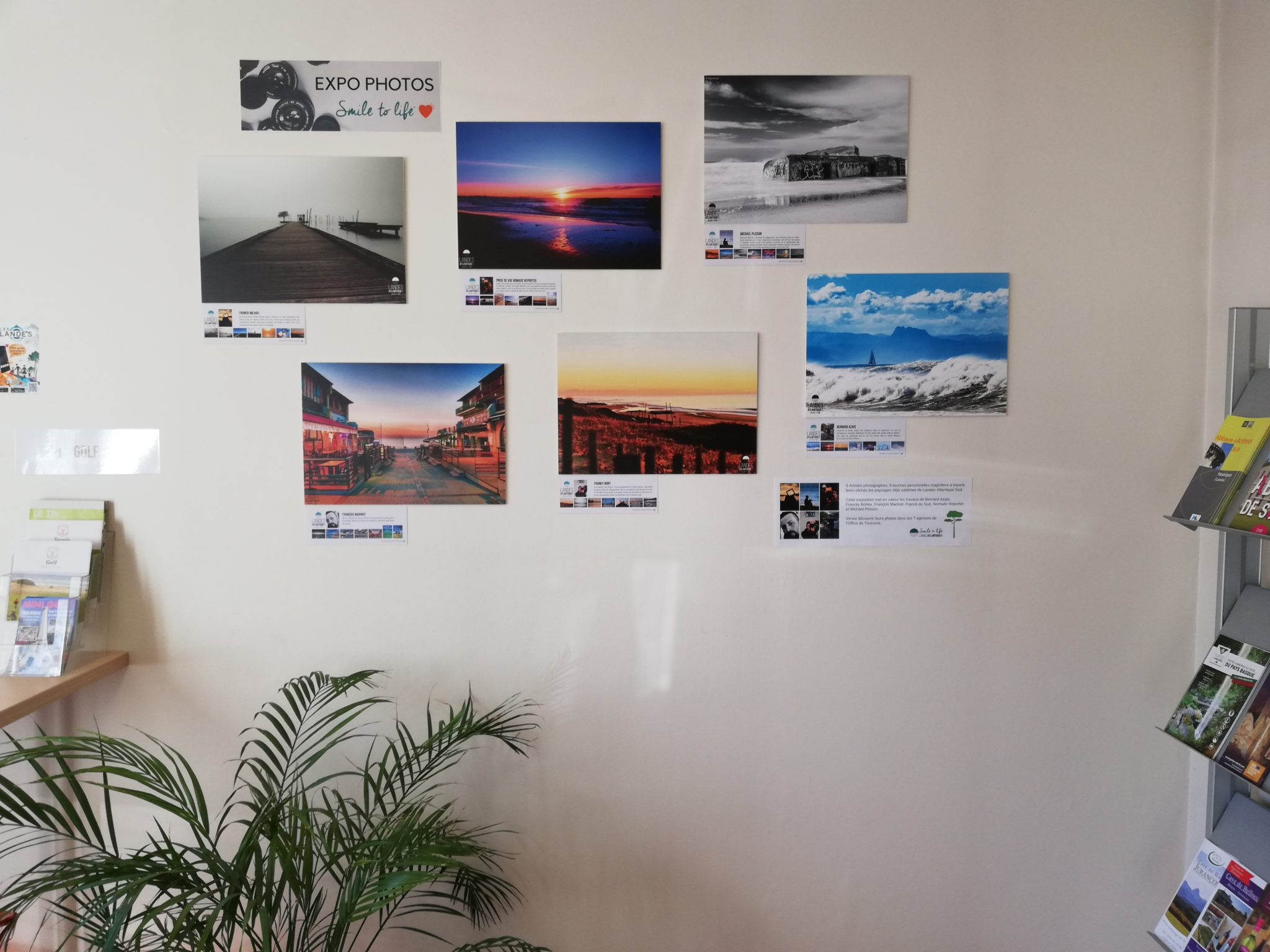 Expo photo à découvrir à l'office de tourisme Landes Atlantique Sud