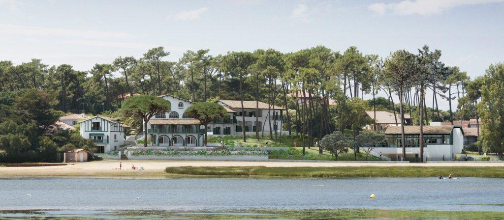 4.hortensias du lac – hossegor – panoramique