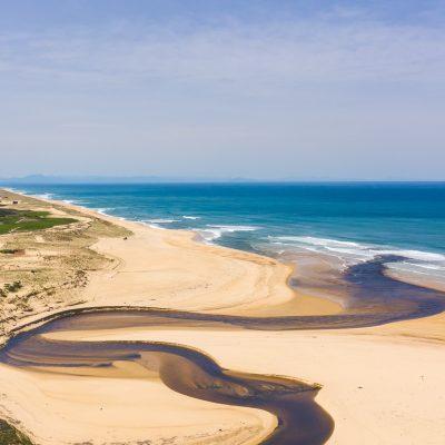 La plage sans limite