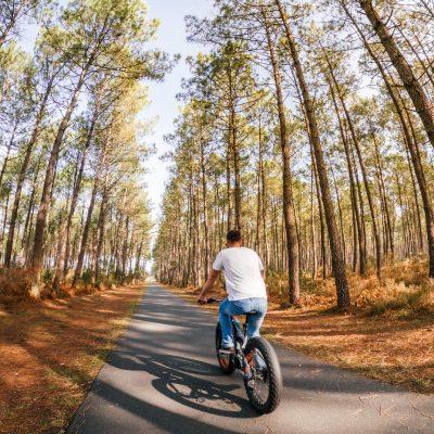A l'assaut des pistes cyclables du Sud des Landes