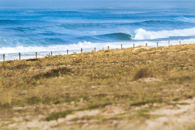 vagues parfait à Hossegor dans les Landes