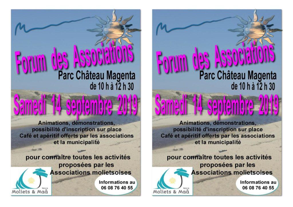 Forum des associtaion-Moliets-Landes Atlantique Sud