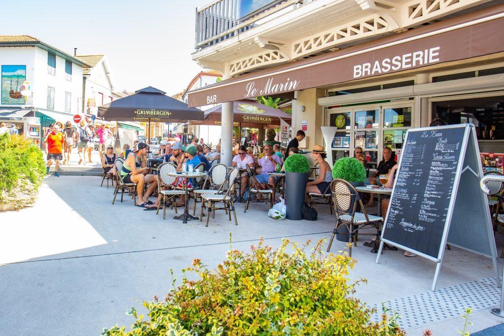 le marin bar brasserie_capbreton_landes atlantique sud