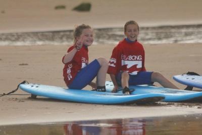 Ocean surf school