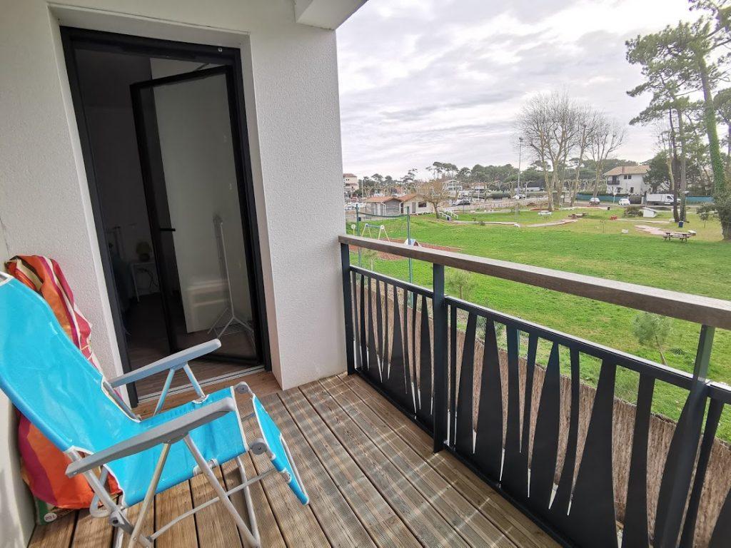 AA-balcon de la chambre