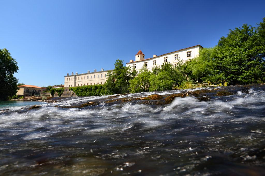 Abbaye de Sorde_vue gave
