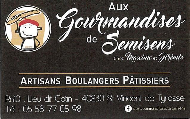 Boulangerie Aux Gourmandises de Semisens_Tyrosse_Landes Atlantique Sud