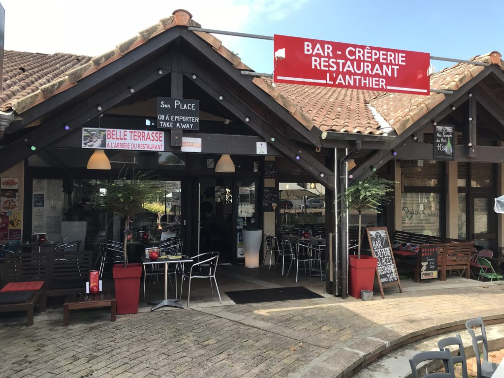 Bar crêperie restaurant l'Anthier-Moliets-Landes Atlantique Sud