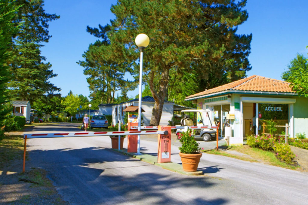 Camping Landes Azur accueil