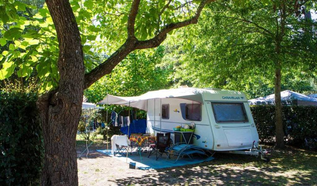 Camping Landes Azur emplacement