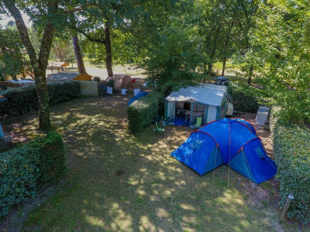 Camping Landes Azur emplacement2