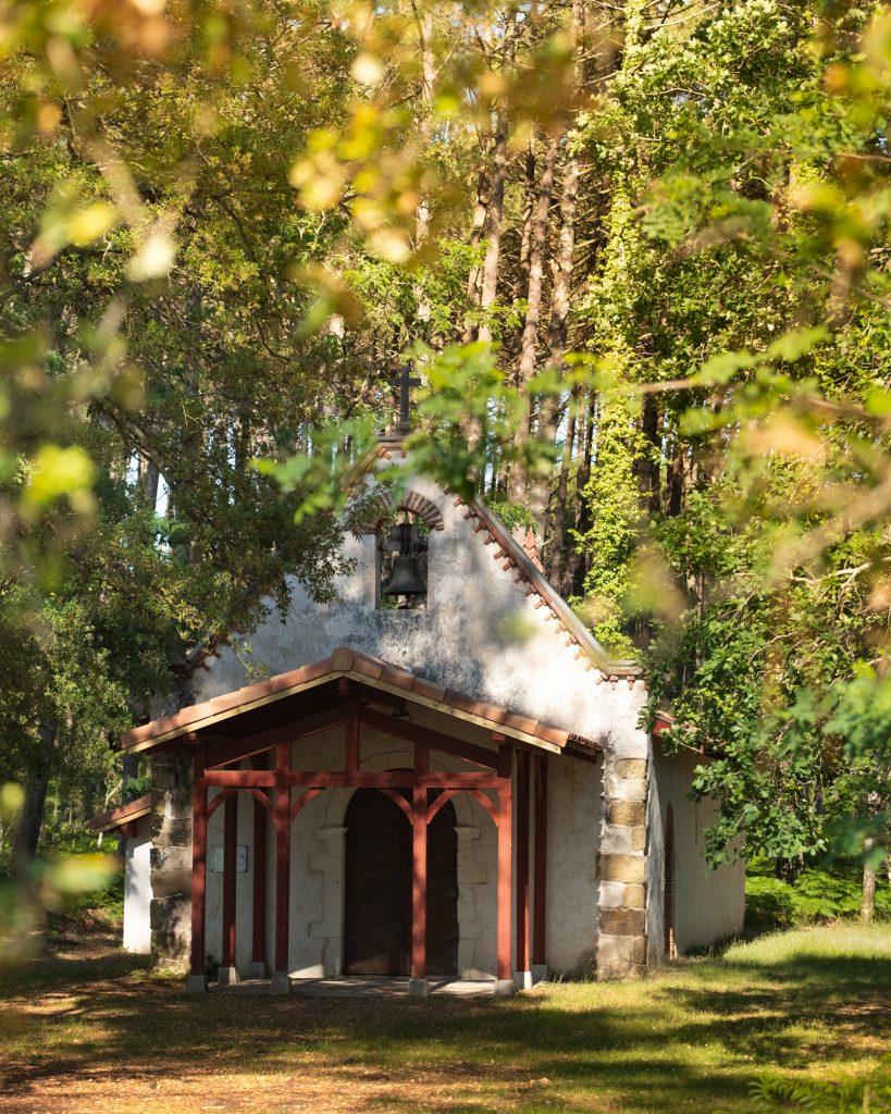 Chapelle-de-maa-Moliets©Landes Atlantique Sud -B. Groelly