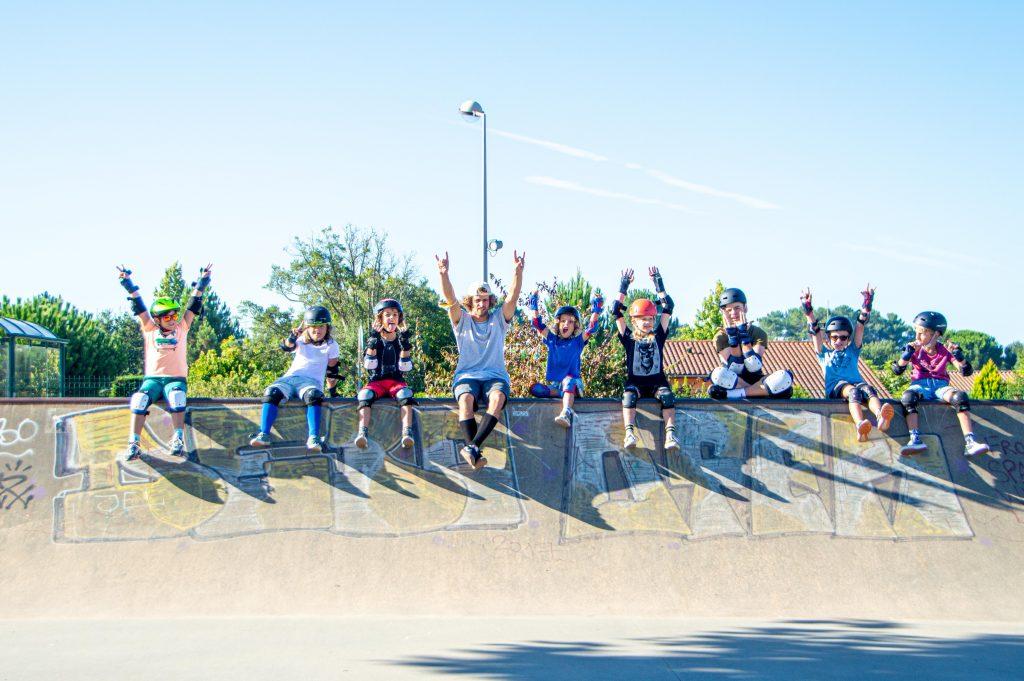 Ecole de surf Soonline surf & skate school Moliets et Maa Landes Surf shop Location surf skate velos Photo Joseph  (45)