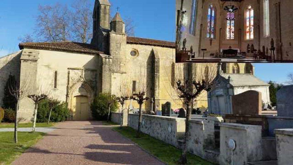 Eglise Saint-Martin-St Martin de Hinx-LAS