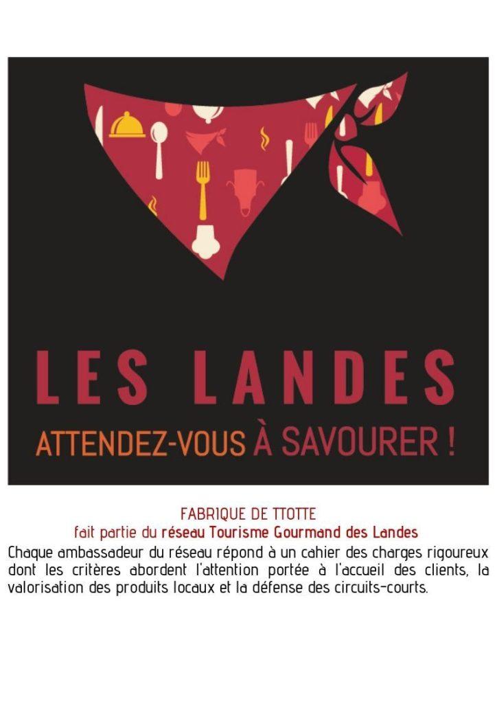Fabrique Ttotte – St Geours de Maremne – Landes Atlantique Sud