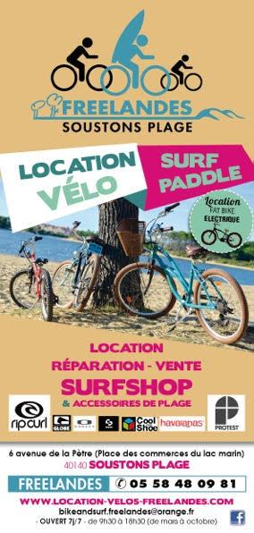 Free Landes_Soustons Plage_Landes Atlantique Sud