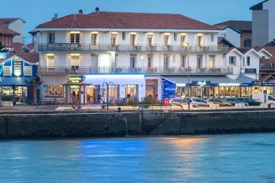 Hotel Océan Capbreton façade