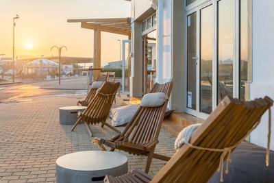 Hotel Océan Capbreton terrasse