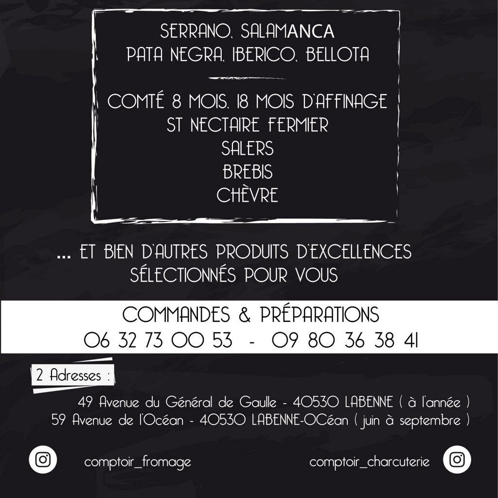 Comptoir Fromage & Charcuterie 4-Labenne-OTILAS