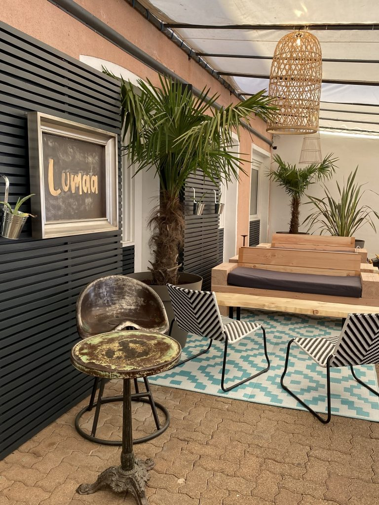 Restaurant hotel Marinero Lumaa terrasse – web