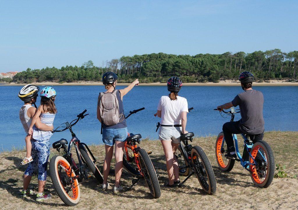 Visites guidées à vélo-Soustons-Landes Atlantique Sud