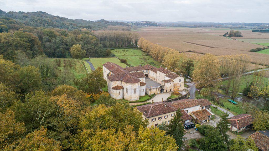 La Forêt près de l'Abbaye d'Arthous
