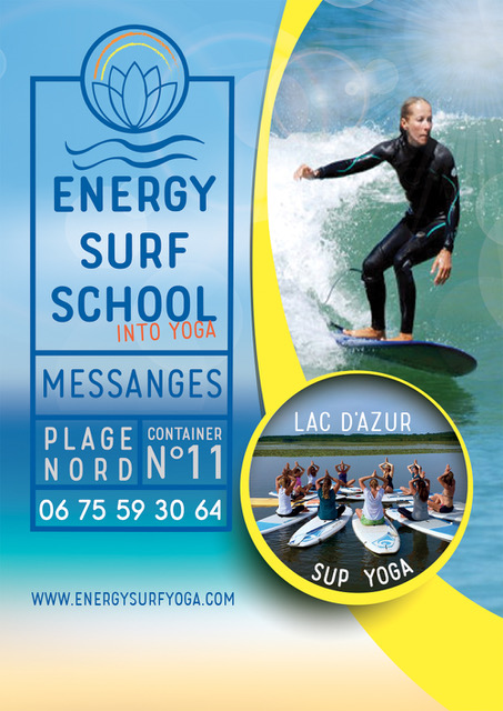 Energy surf school Messanges