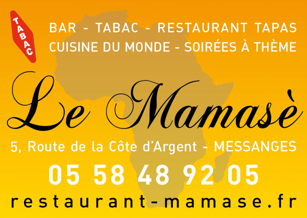 Restaurant Le Mamasé-Messanges-Landes Atlantique Sud