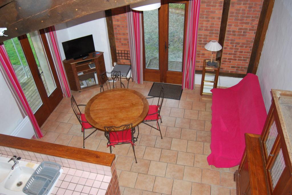 location_maison_soustons_dupinbarrere_vue depuis mezzanine