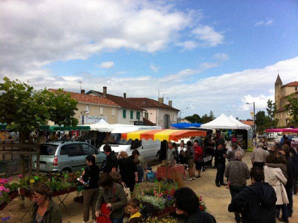 Marché de St Geours de Maremne