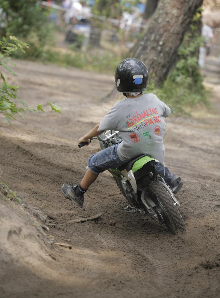 Adrénaline Parc-Mini motos-Moliets-OTI LAS