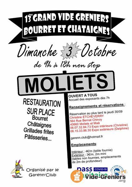 vide-grenier-automne-Moliets-et-Maa-Landes Atlantique Sud