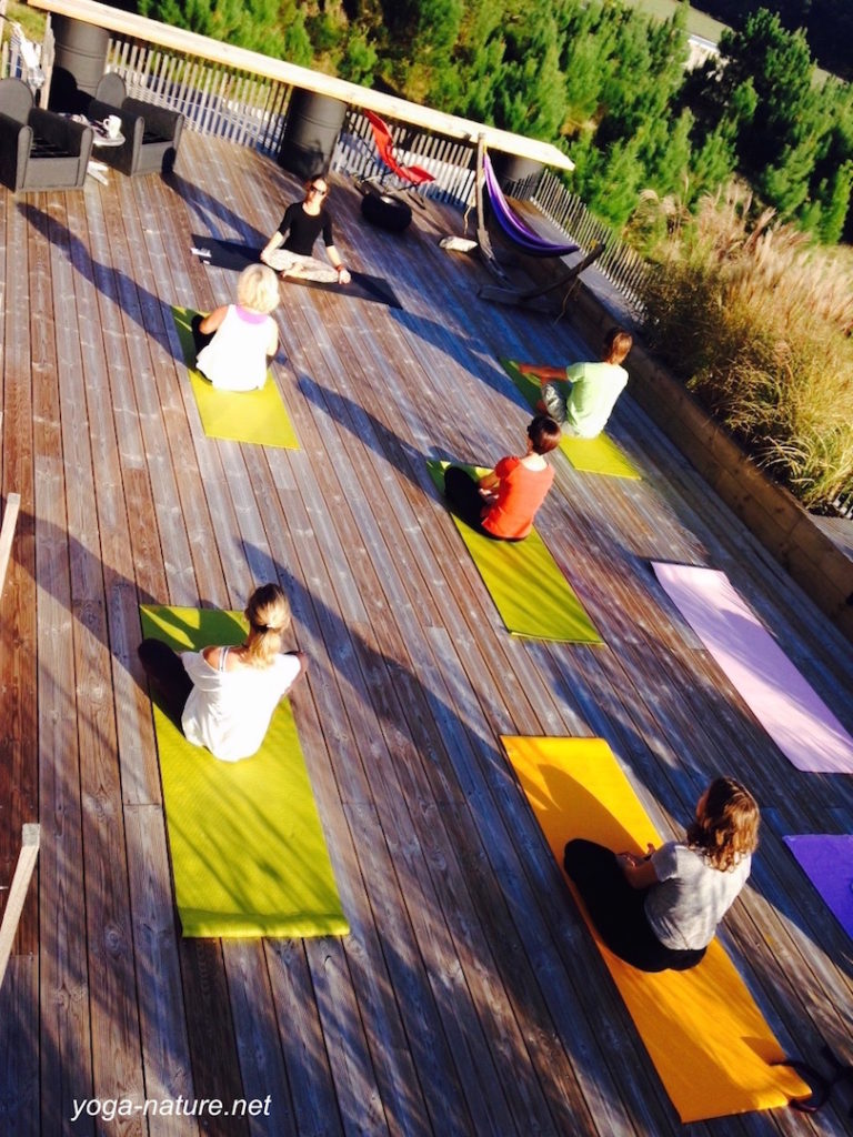 yoga nature cours collectif